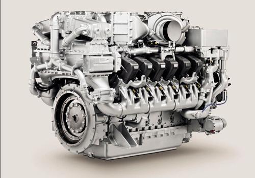 MTU 4000 Engine