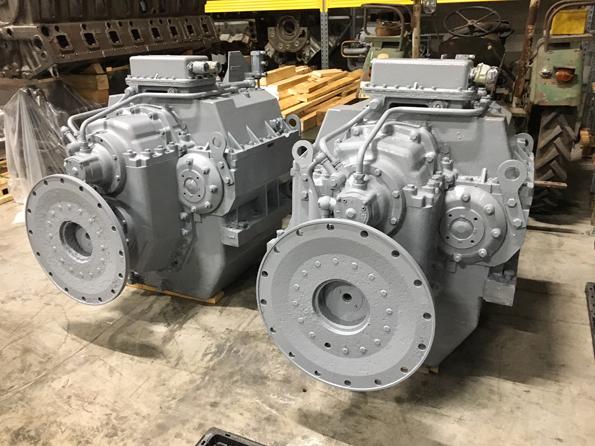MTU16V956 engine